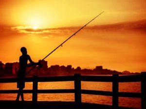 FineArt – Amanhecer Dourado – pesca