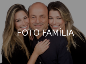 Foto Família em Studio